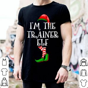 Official I'm the TRAINER ELF Matching Family Group Christmas sweater