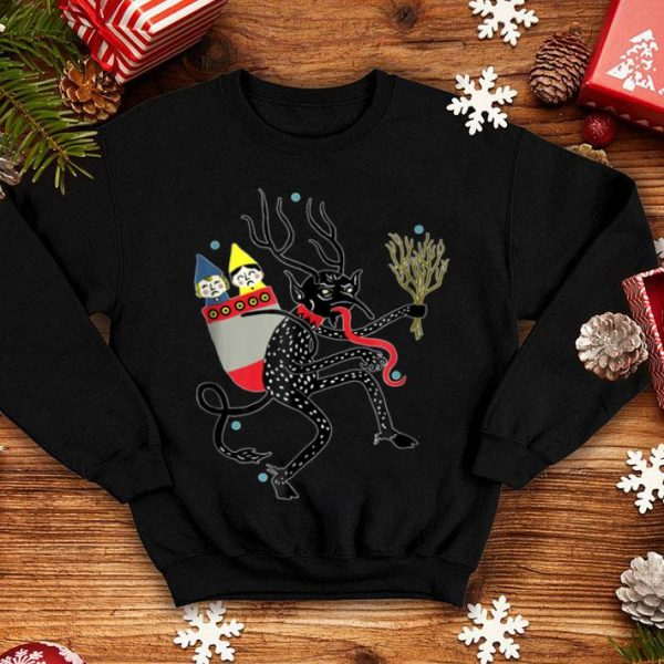 Official Vintage Krampus Christmas Devil sweater
