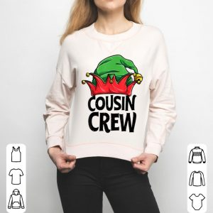 Original Cousin Crew Elf Christmas Family Matching Pajamas sweater