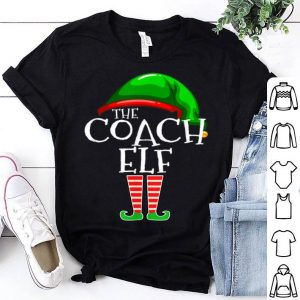 Original The Coach Elf Group Matching Family Christmas Gifts Coaching sweater