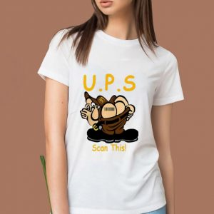 Original U.P.S Scan This shirt