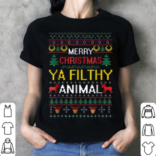 Premium Filthy Animal Ya Merry Christmas Ugly Sweater sweater