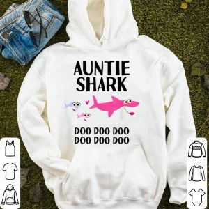 Pretty Auntie Shark Doo Doo Christmas Birthday Aunt Gift sweater