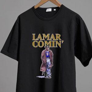 Pretty Lamar Jackson Lamar Comin' shirt 1