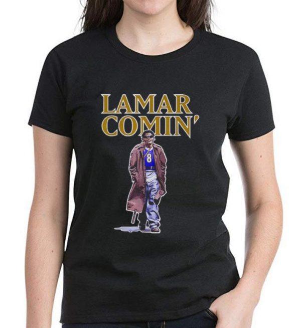 Pretty Lamar Jackson Lamar Comin' shirt