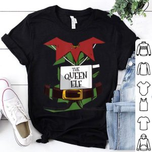 Pretty QUEEN Elf Costume Family Matching Outfit PJs Christmas sweater