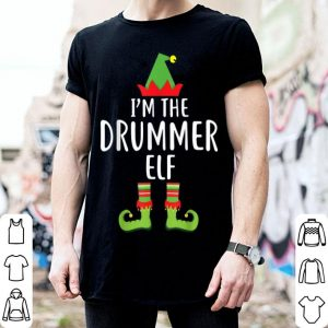 Top I'm The Drummer Elf Matching Family Group Christmas sweater