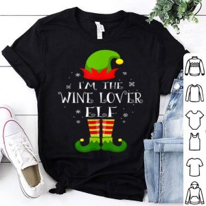 Top I'm The Wine Lover Elf Matching Family Group Christmas sweater