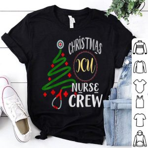 Top ICU Nurse Christmas Crew Stethoscope Xmas Tree sweater