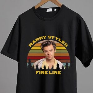 Awesome Vintage Harry Styles Fine Line Signature shirt