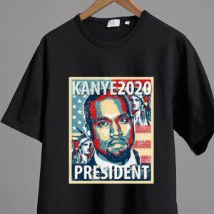 Hot Kanye 2020 Yeezy Kanye For President shirt