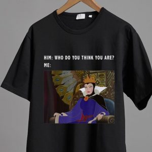 Hot Sleeping Beauty Maleficent Who Do You Think You Are shirt 1