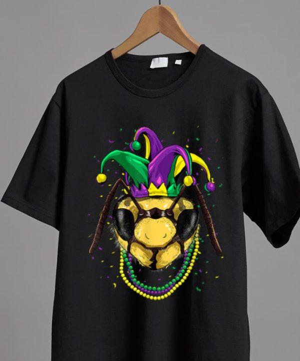 Nice Bee Animal Lover Cute Mardi Gras Carnival shirt