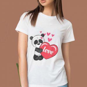 Nice Valentines Day Panda Love shirt