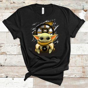 Original Star Wars Baby Yoda Blood Inside Boston Bruins shirt