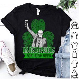 Awesome Bernie Sanders 2020 President St Patricks Day Irish beer pub shirt