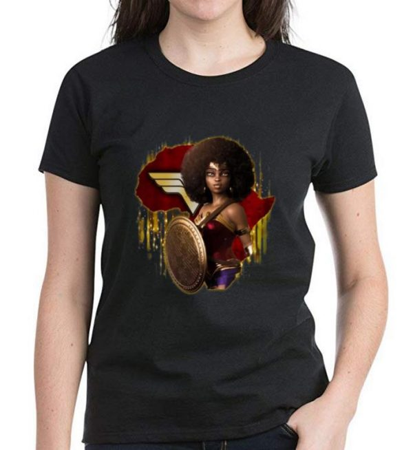 Awesome Black Girl Wonder Woman shirt