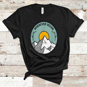 Awesome Wherever Vegan Travel shirt