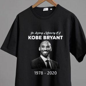 Great In loving Memory Of Kobe Bryant 1978 – 2020 shirt