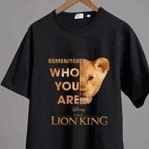 Great Remember Who Are The Lion King shirt