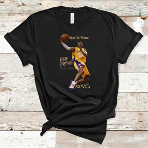 Hot Rest In Peace Kobe Bryant King shirt