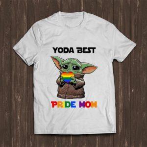 Nice Baby Yoda Lgbt Best Pride Mom shirt