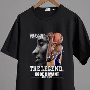 Nice The Mamba The Myth The Legend Kobe Bryant Signature shirt