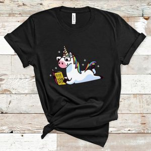 Official Unicorn Riding Believe In Yourself shirt