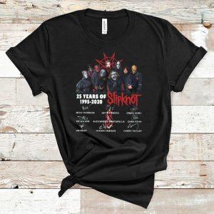 Original 25 Years Of Slipknot 1995 – 2020 shirt