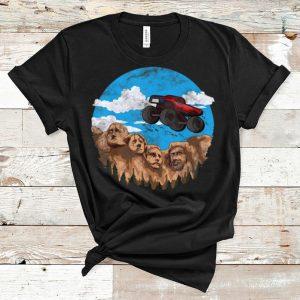 Original Monster Truck Rushmore Mountain Vintage shirt