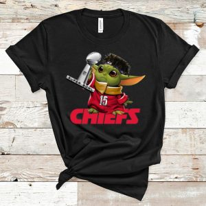 Pretty Baby Yoda Patrick Mahomes Kansas City Chiefs Super Bowl Liv Champions shirt