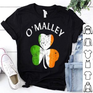 Top O'Malley Irish Shamrock St Patricks Day shirt