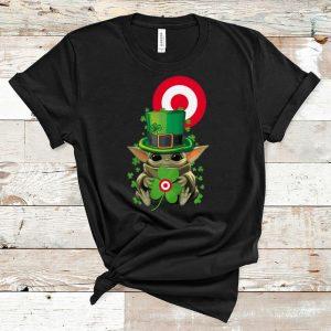 Top Star Wars Baby Yoda Target Shamrock St. Patrick's Day shirt