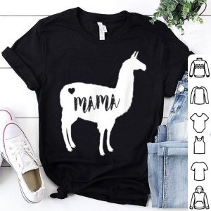Awesome Mama Llama Alpaca - Cute Mothers Day Gift For Mom shirt