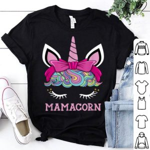 Awesome Mamacorn Unicorn Mama Cute Birthday Mothers Day Mom Gift shirt