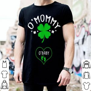 Awesome St Patricks Day Pregnancy Announcement Matching Couple shirt