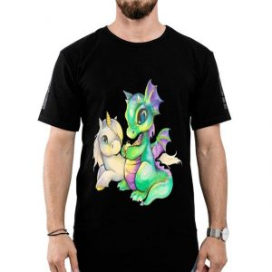 Baby Unicorn and dragon shirt