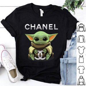 Baby Yoda Hug Chanel shirt