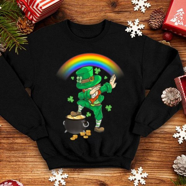Beautiful Dabbing Leprechaun St Patricks Day Dab Kids Boys Men shirt