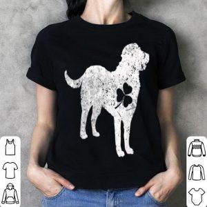 Beautiful Greater Swiss Mountain Dog Irish Clover St Patrick Day shirt