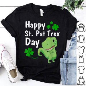 Beautiful Happy St. Pat Trex Day Dinosaur St. Patrick's Day shirt