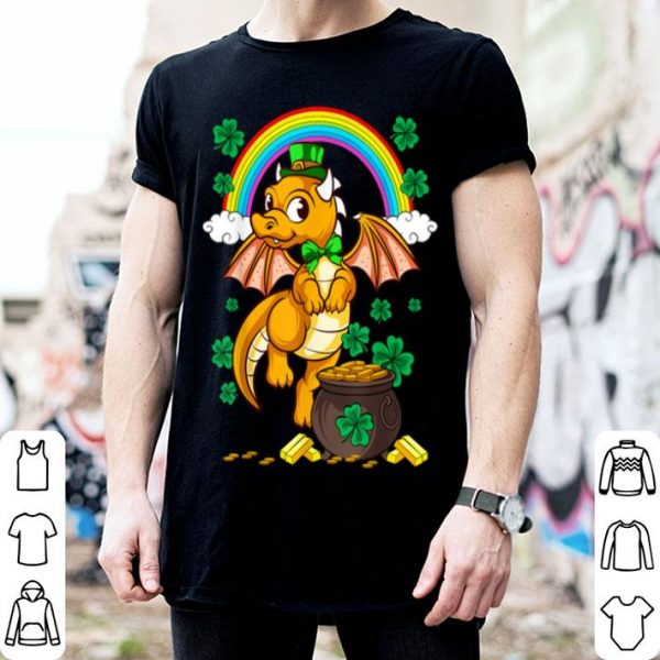 Beautiful Irish Dragon Leprechaun St Patricks Day Ireland Kids Men Mom shirt