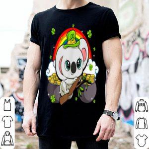 Beautiful Kawaii Koala Bear St Patricks Day Tee Animal shirt