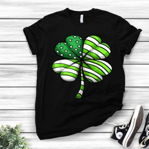 Clover Shamrock Usa Flag St Patrick's Day Men Women shirt