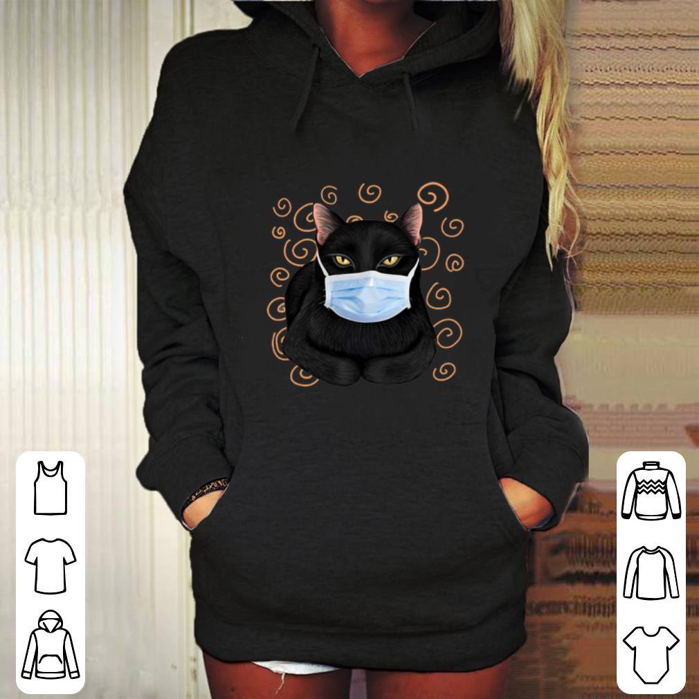 Nice Black cat face mask shirt 4 - Nice Black cat face mask shirt