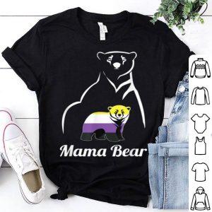 Nice Non-binary Mama Bear Lgbt Trans Pride Gift shirt
