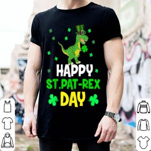 Official Happy St. Pat T-rex Day Dinosaur St. Patrick's Day shirt