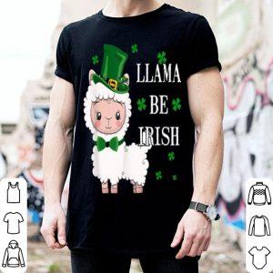Official Llama Be Irish Costume Funny St. Patrick's Day Shamrock shirt