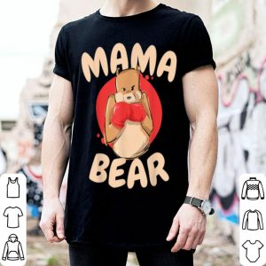 Official Mama Bear Boxing Mom Cute Mother's Day Boxer Gift shirt