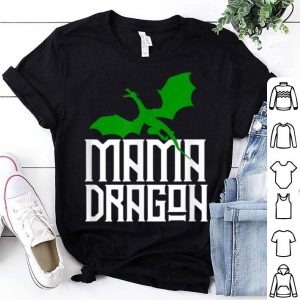 Official Mama Dragon Green Matching Family Tribe Mom Wife shirt